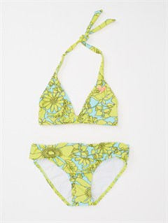 YELGirls 7- 4 Blooming Bliss Tiki Triangle One Piece Swimsuit by Roxy - FRT1