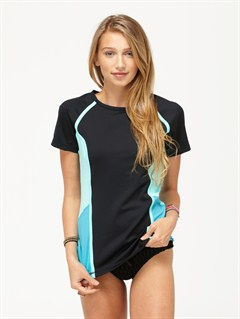 BLKBasically Roxy SS Rashguard by Roxy - FRT1