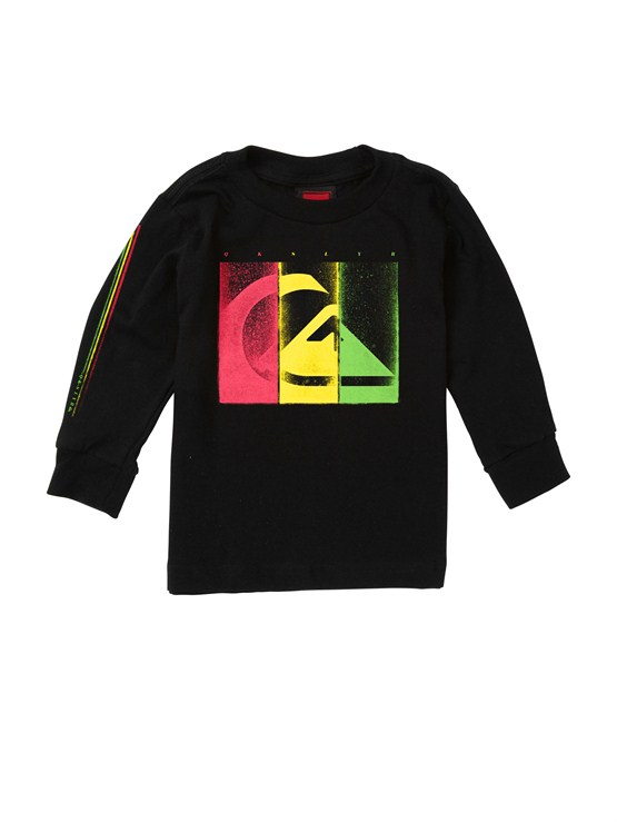 KVJ0Baby Damaged Long Sleeve T-Shirt by Quiksilver - FRT1