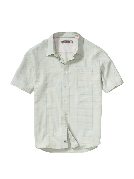 GHG0Men s Aganoa Bay Short Sleeve Shirt by Quiksilver - FRT1