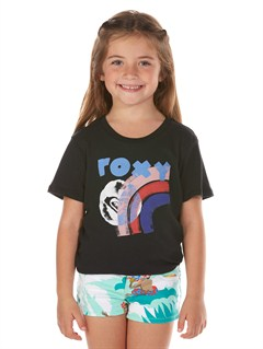 KVJ0Girls 2-6 Block Rocks Harmony Tee by Roxy - FRT1