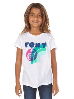 WBB0Girls 2-6 Coast Lines N Long Sleeve Tee by Roxy - FRT1