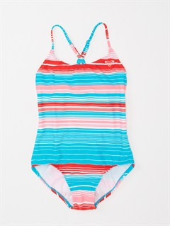 PNPGirls 7- 4 Blooming Bliss Tiki Triangle One Piece Swimsuit by Roxy - FRT1
