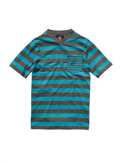 BLY3Boys 8- 6 Engineer Pat Short Sleeve Shirt by Quiksilver - FRT1