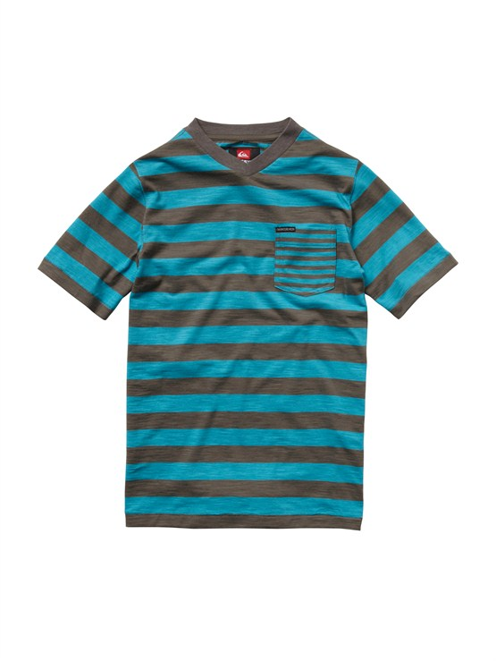 BLY3Boys 8- 6 Haano Short Sleeve Shirt by Quiksilver - FRT1