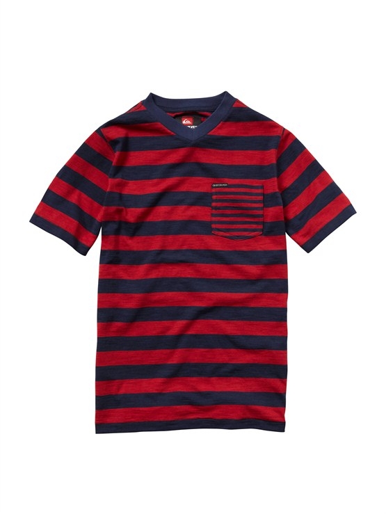 RRD3Boys 8- 6 Mountain And Wave Shirt by Quiksilver - FRT1