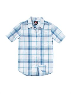 WBB1Boys 8- 6 Engineer Pat Short Sleeve Shirt by Quiksilver - FRT1