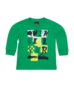 GRJ0Baby Damaged Long Sleeve T-Shirt by Quiksilver - FRT1