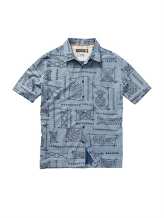 BQP0Pirate Island Short Sleeve Shirt by Quiksilver - FRT1