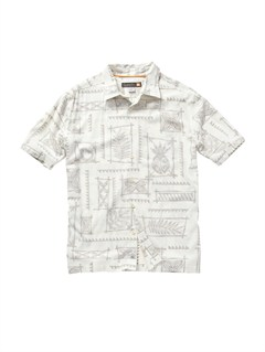 WDM0Men s Aganoa Bay Short Sleeve Shirt by Quiksilver - FRT1