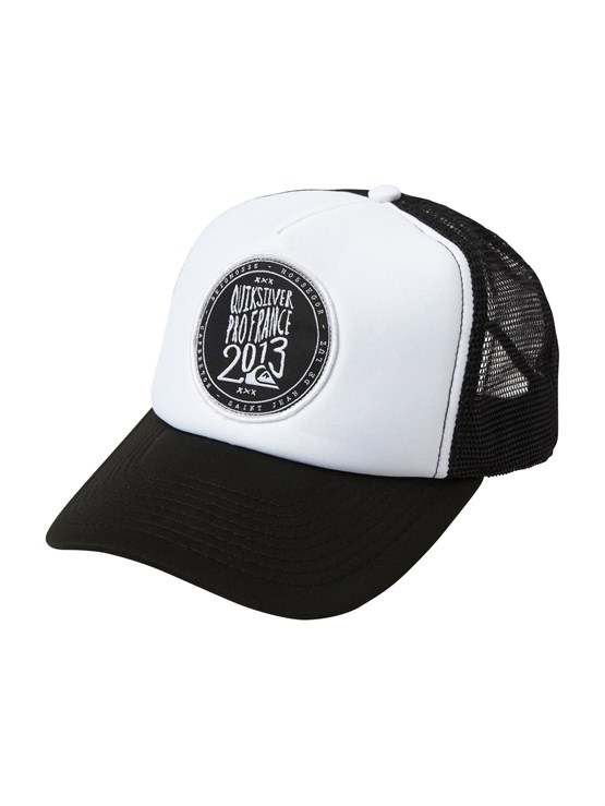 WBB0Please Hold Trucker Hat by Quiksilver - FRT1