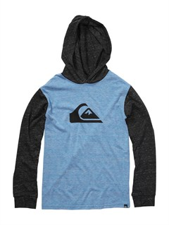 BQW0Boys 8- 6 Mountain Wave Long Sleeve Hooded T-Shirt by Quiksilver - FRT1