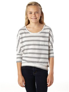 KVJ3Girls 7- 4 Believe Printed B Sweater by Roxy - FRT1