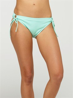 CBWSurf Essentials 70s Lowrider Side Tie Bikini Bottoms by Roxy - FRT1