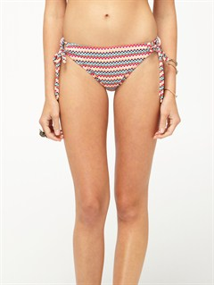 BLKAgainst the Tide Surfer Side Tie Bikini Bottoms by Roxy - FRT1