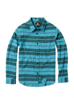 BLY3Boys 8- 6 Bam Bam Long Sleeve Flannel Shirt by Quiksilver - FRT1