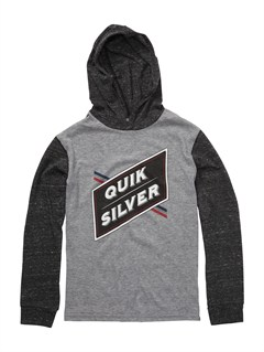 KPF0Boys 8- 6 Mountain Wave Long Sleeve Hooded T-Shirt by Quiksilver - FRT1