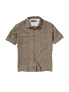 TMS0Crossed Eyes Short Sleeve Shirt by Quiksilver - FRT1