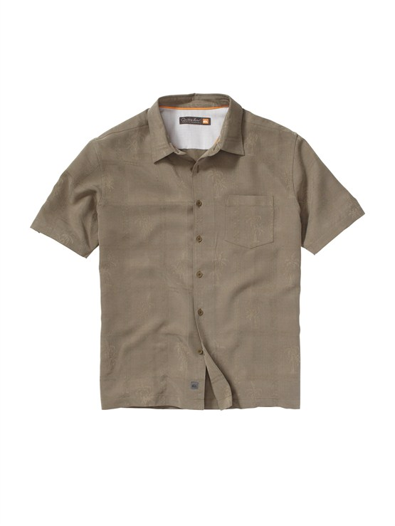 TMS0Men s Aganoa Bay Short Sleeve Shirt by Quiksilver - FRT1