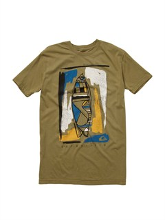 GNG0Burn Hour Slim Fit Organic T-Shirt by Quiksilver - FRT1