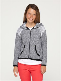 KVJ0Girls 7- 4 Believe Printed B Sweater by Roxy - FRT1