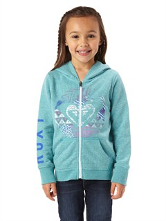BLK0Girls 2-6 First Grade Hoodie by Roxy - FRT1