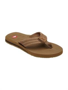 TANBoys 8- 6 Carver Suede Sandals by Quiksilver - FRT1