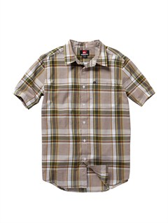 CRE1Crossed Eyes Short Sleeve Shirt by Quiksilver - FRT1