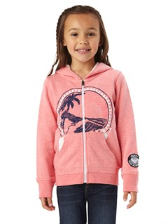 MJJ0Girls 2-6 First Grade Hoodie by Roxy - FRT1