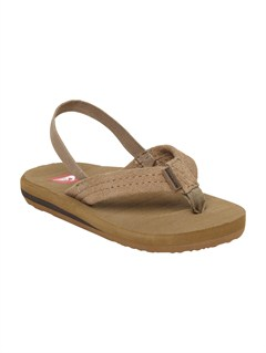 TANToddler Carver Suede 2 Sandals by Quiksilver - FRT1