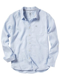 BLUSimple Question Long Sleeve Flannel Shirt by Quiksilver - FRT1