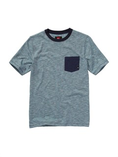 KTP3Boys 8- 6 Score Core Heather T-Shirt by Quiksilver - FRT1