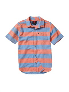 POPBoys 8- 6 Engineer Pat Short Sleeve Shirt by Quiksilver - FRT1