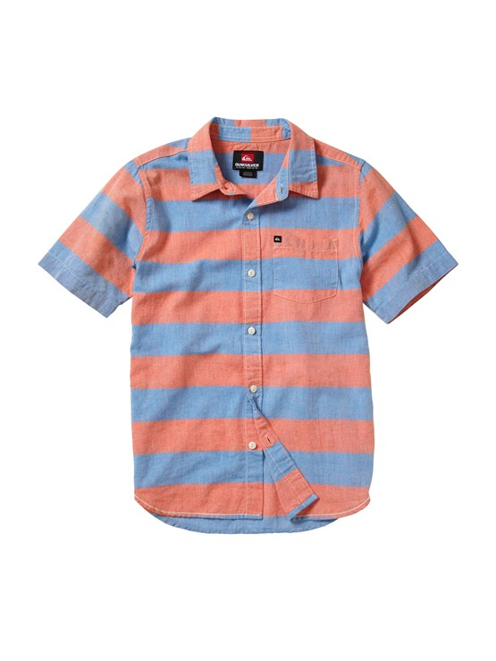 POPBoys 8- 6 Haano Short Sleeve Shirt by Quiksilver - FRT1