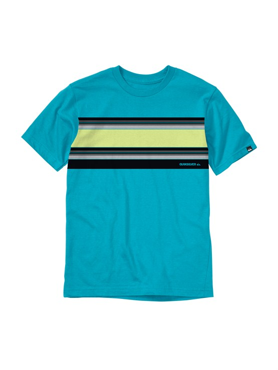BNY0Boys 2-7 Gravy All Over T-Shirt by Quiksilver - FRT1