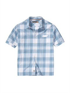 BHC0Men s Baracoa Coast Short Sleeve Shirt by Quiksilver - FRT1