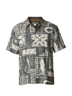 KSA0Men s Deep Water Bay Short Sleeve Shirt by Quiksilver - FRT1
