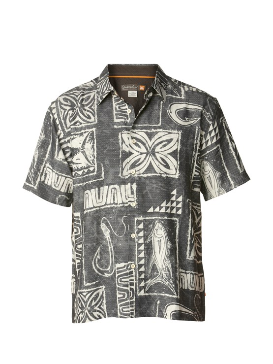 KSA0Men s Aganoa Bay Short Sleeve Shirt by Quiksilver - FRT1