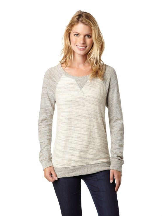 SEZ0New Plain Scenic Pullover by Roxy - FRT1