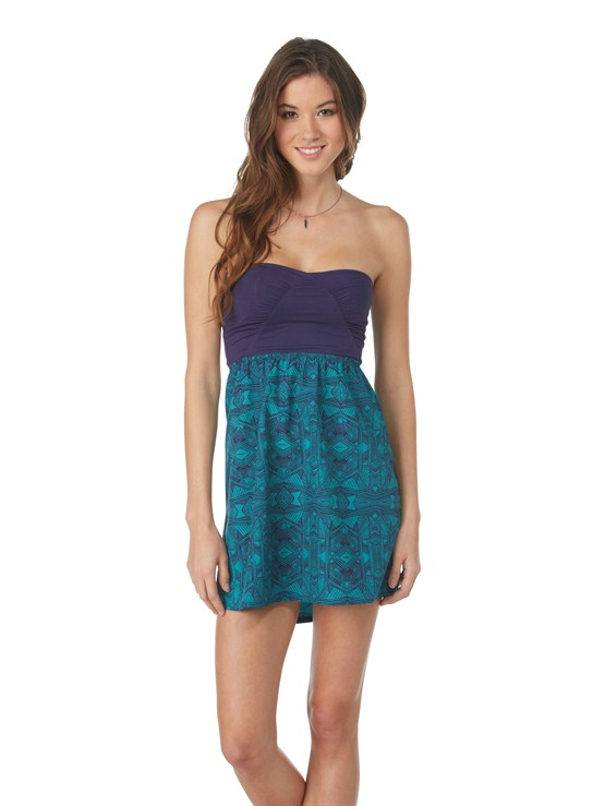 GRL6Free Swell Dress by Roxy - FRT1