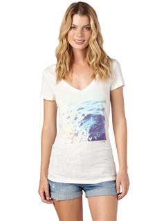 WBS0Roxy Wave V-Neck Tee by Roxy - FRT1