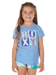 BJC0Girls 2-6 Block Rocks Harmony Tee by Roxy - FRT1