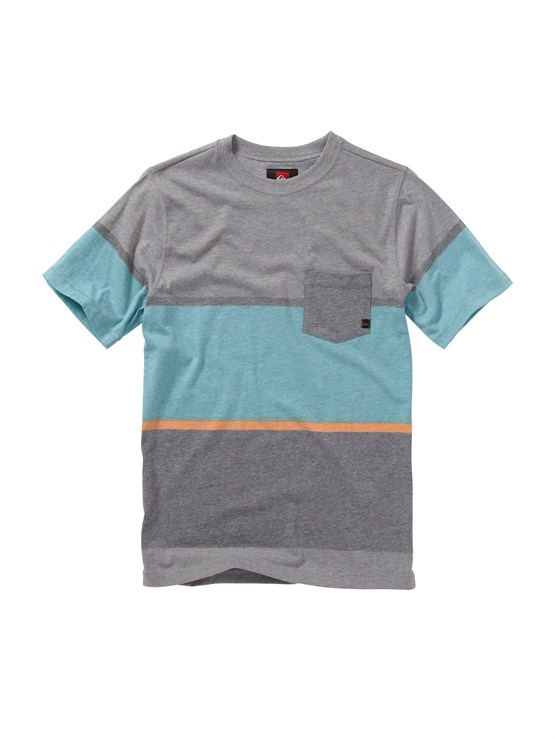 SKT3Boys 2-7 Gravy All Over T-Shirt by Quiksilver - FRT1