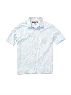 BFA0Men s Deep Water Bay Short Sleeve Shirt by Quiksilver - FRT1