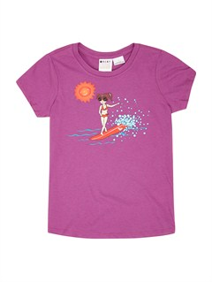 PML0Girls 2-6 All Aboard Tee by Roxy - FRT1