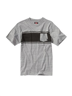 SKT3Boys 8- 6 Score Core Heather T-Shirt by Quiksilver - FRT1