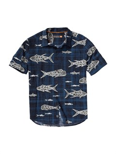 BTK0Men s Hazard Cove Long Sleeve Flannel Shirt by Quiksilver - FRT1