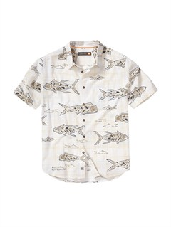 WBB0Men s Deep Water Bay Short Sleeve Shirt by Quiksilver - FRT1