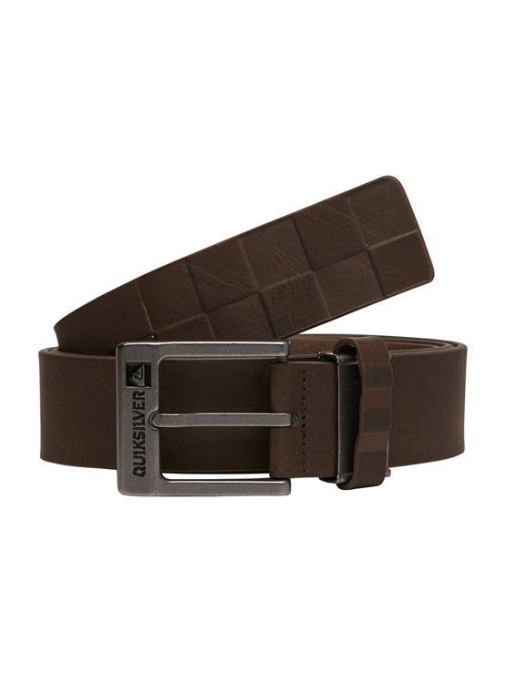 CTK0Sector Leather Belt by Quiksilver - FRT1