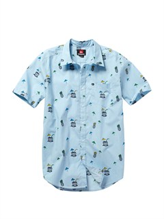 BFG7Pirate Island Short Sleeve Shirt by Quiksilver - FRT1